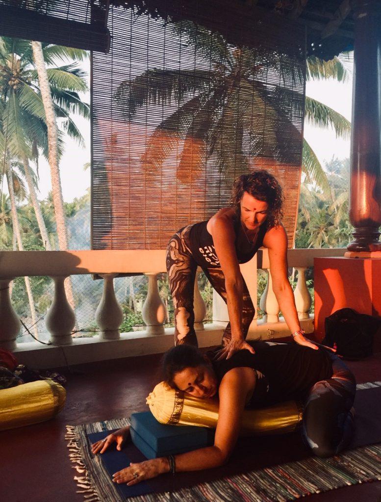 restorative yoga india