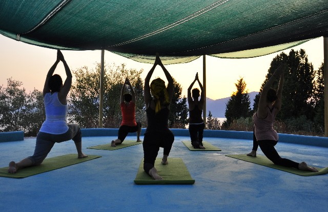 Silver Island Yoga retreats